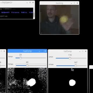 Raspberry Pi Ball Tracking