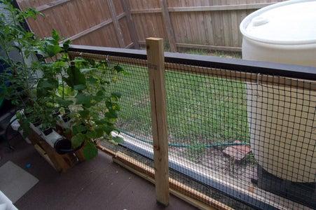 Recycled Garden Trellis