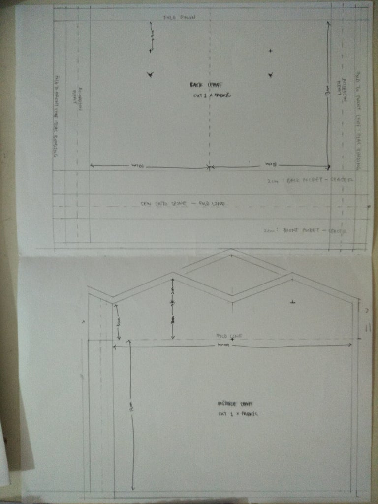 Double-Sided Pocket Insert for Materials and Loose Bits