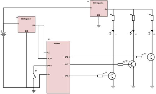 Build ESP8266 Circuit