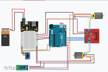 Connect GY-271 to Arduino