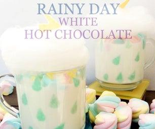 雨天热巧克力