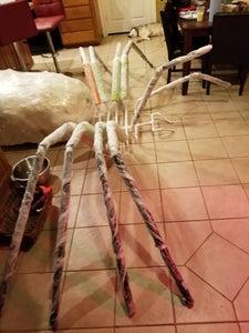 Skinning the Spider