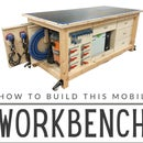 Ultimate Mobile T-Track Workbench + Customizable Storage