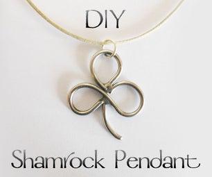 DIY Shamrock Pendant