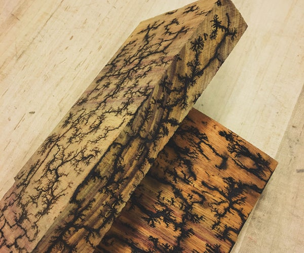 Wood Burning Lichtenberg Figures