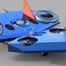 Flying  Skateboard