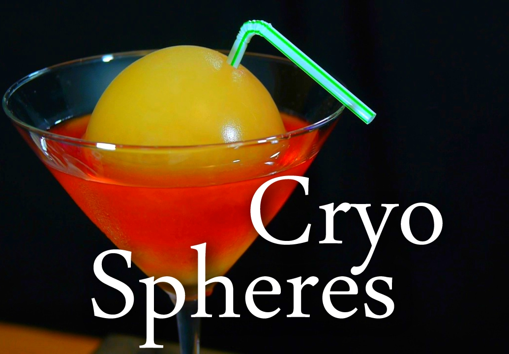 Make Edible Ice Spheres With Cryogenic Liquid