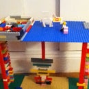 Lego Building Table