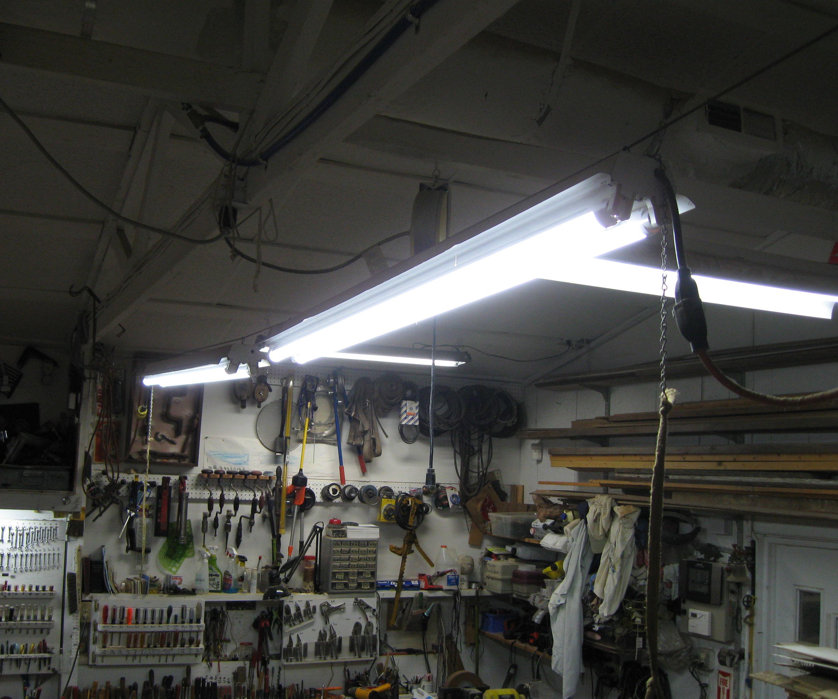Workshop Track Lighting
