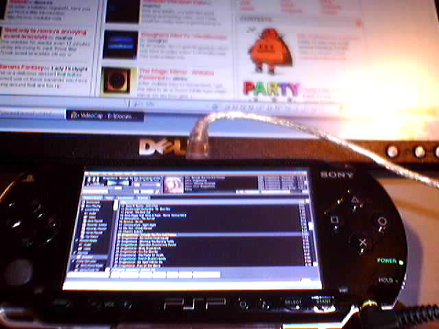 Set up your PSP as a Secondary Monitor