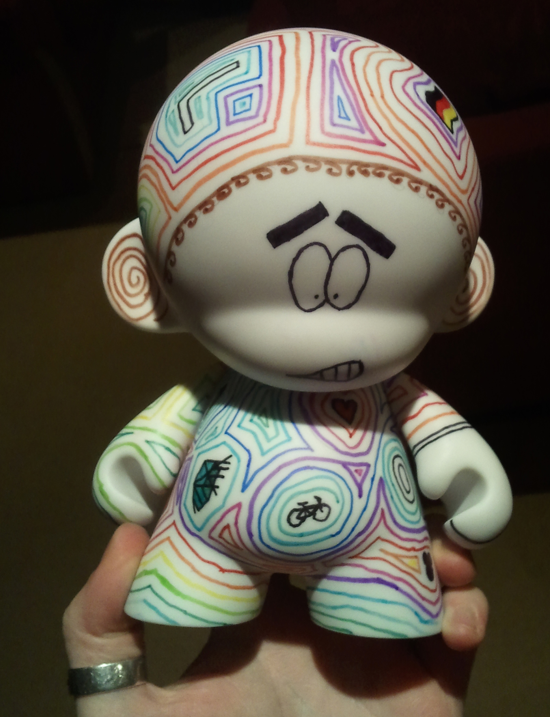 Sweet Personalised Hidden-Image Munny Doll Gift