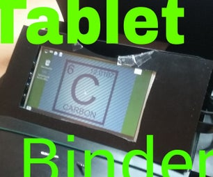 Build a Tablet Binder With the Raspberry Pi