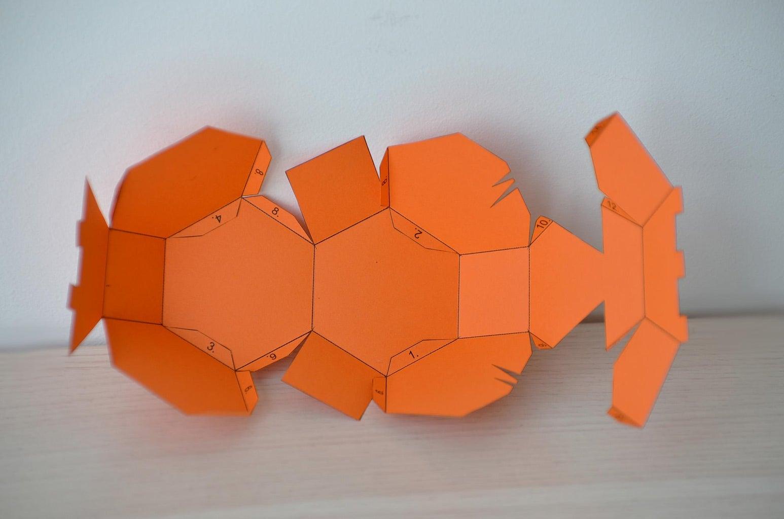Assembling the Truncated Octahedron