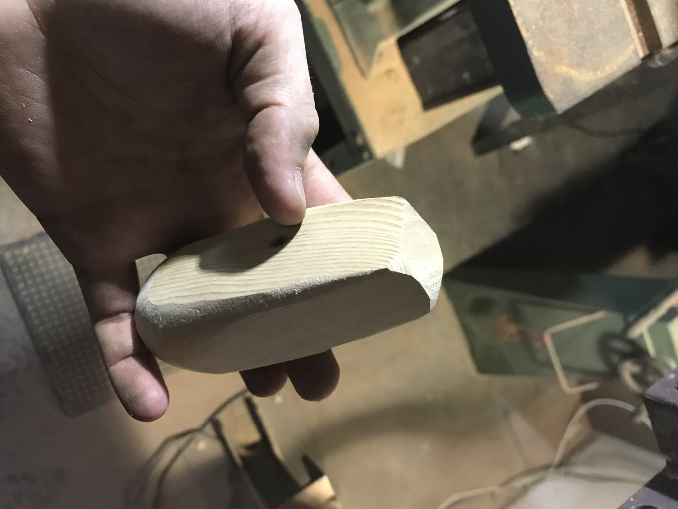 Making the Wooden Handle