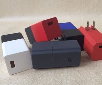 How to Make a Mini 2 in 1 Portable External Power Bank Charger