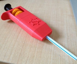 3D Printable Adjustable Volume Pipette