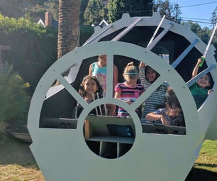Star Wars Millennium Falcon Cockpit Playhouse That Can Fly!