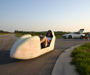 2009 UCF HPV (Human Powered Vehicle) Initial Pictures