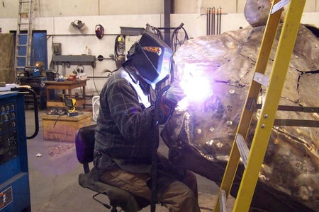 Chase, Weld and Fabricate