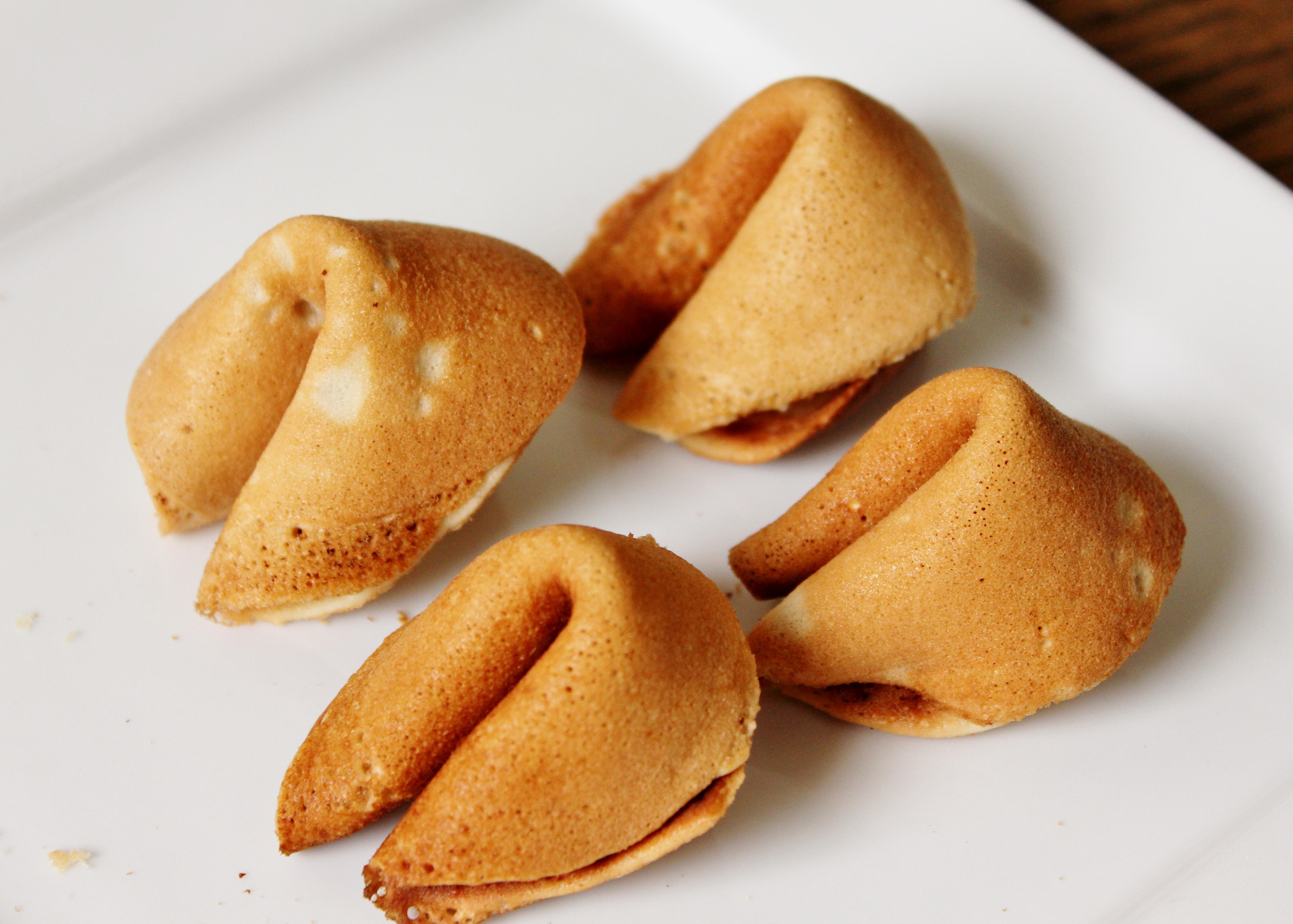 Gluten Free Fortune Cookies