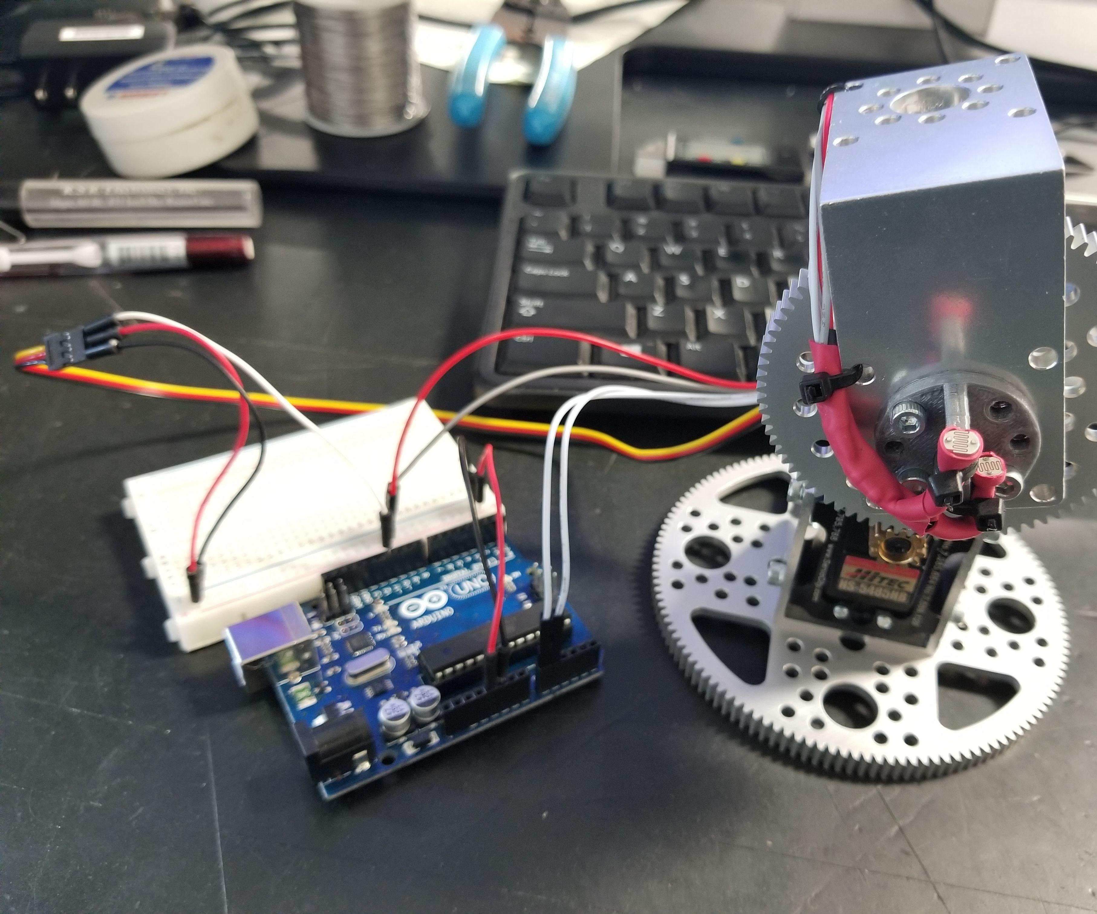 Actobotics Solar Tracker