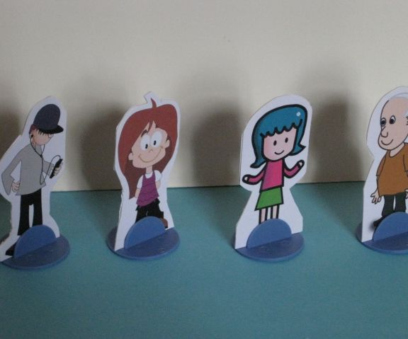 Personalized Game Board Pieces