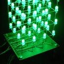 The 4x4x4 LED cube (Arduino)