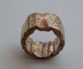 Making an Engagement Ring From Mokume Gane