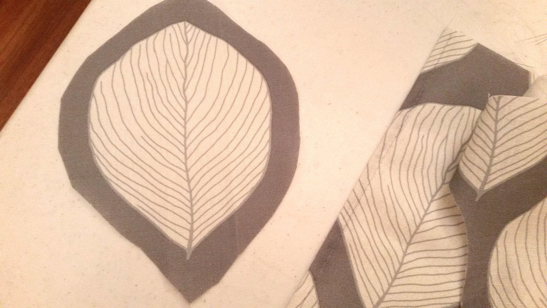 Fun Part - Lay Out the Leave Design