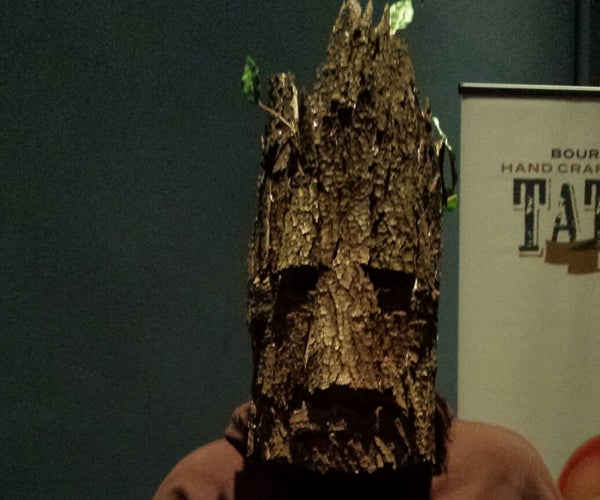 Groot Mask Made for $10 or Less!