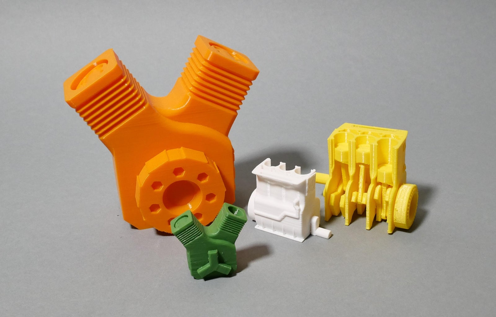 Movable 3D-Printed Engine!