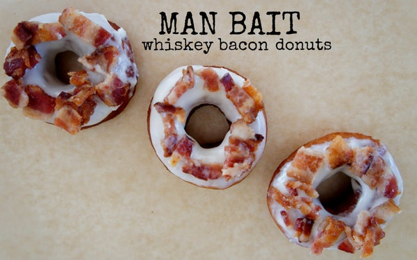 MAN BAIT- Whiskey Bacon Donuts