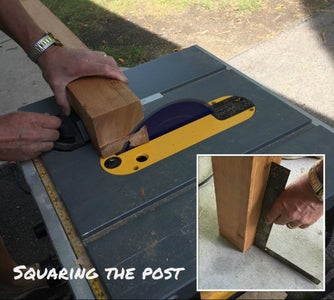 Cut 4x4 Post to Length