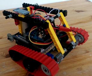 Lego Car/tank, Arduino Meets Android