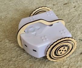 Wood Flexible Wheel for the Thymio Robot
