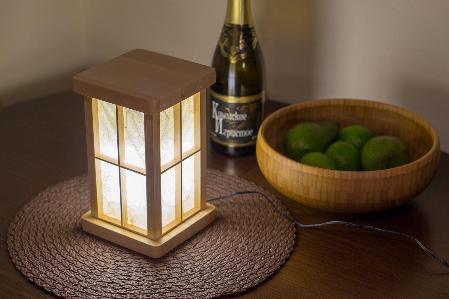 Put Window Frames on and Enjoy Your Lantern!