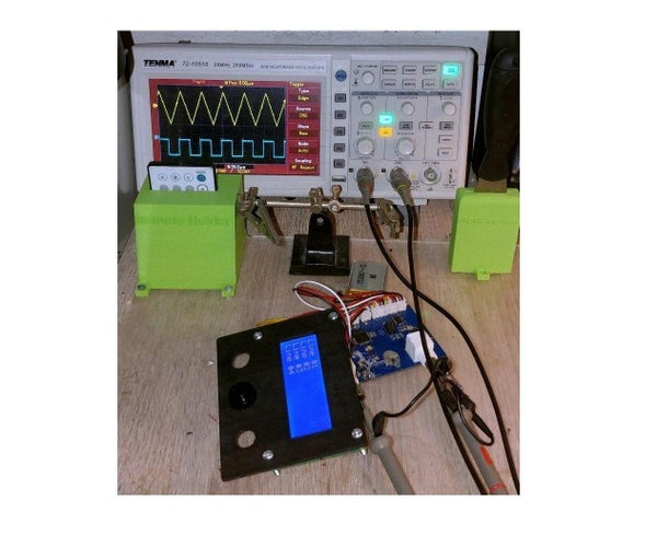 Portable Function Generator on WiFi and Android