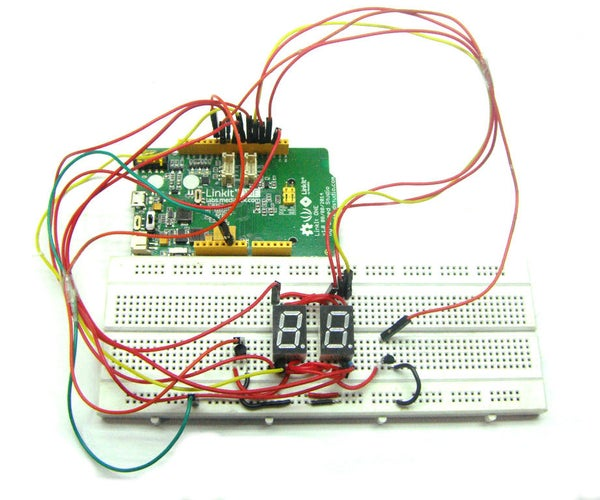 Save Your Pins in 7 Segment Display Project