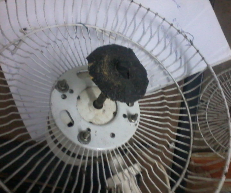 table fan grinder