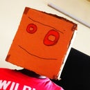 Instructables Robot Helmet (Using Only Cardboard!!)