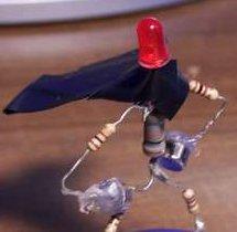 Posable Mr. Resistor Magnet!