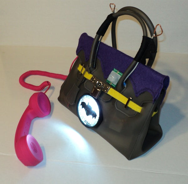 Batgirl Birkin Bag