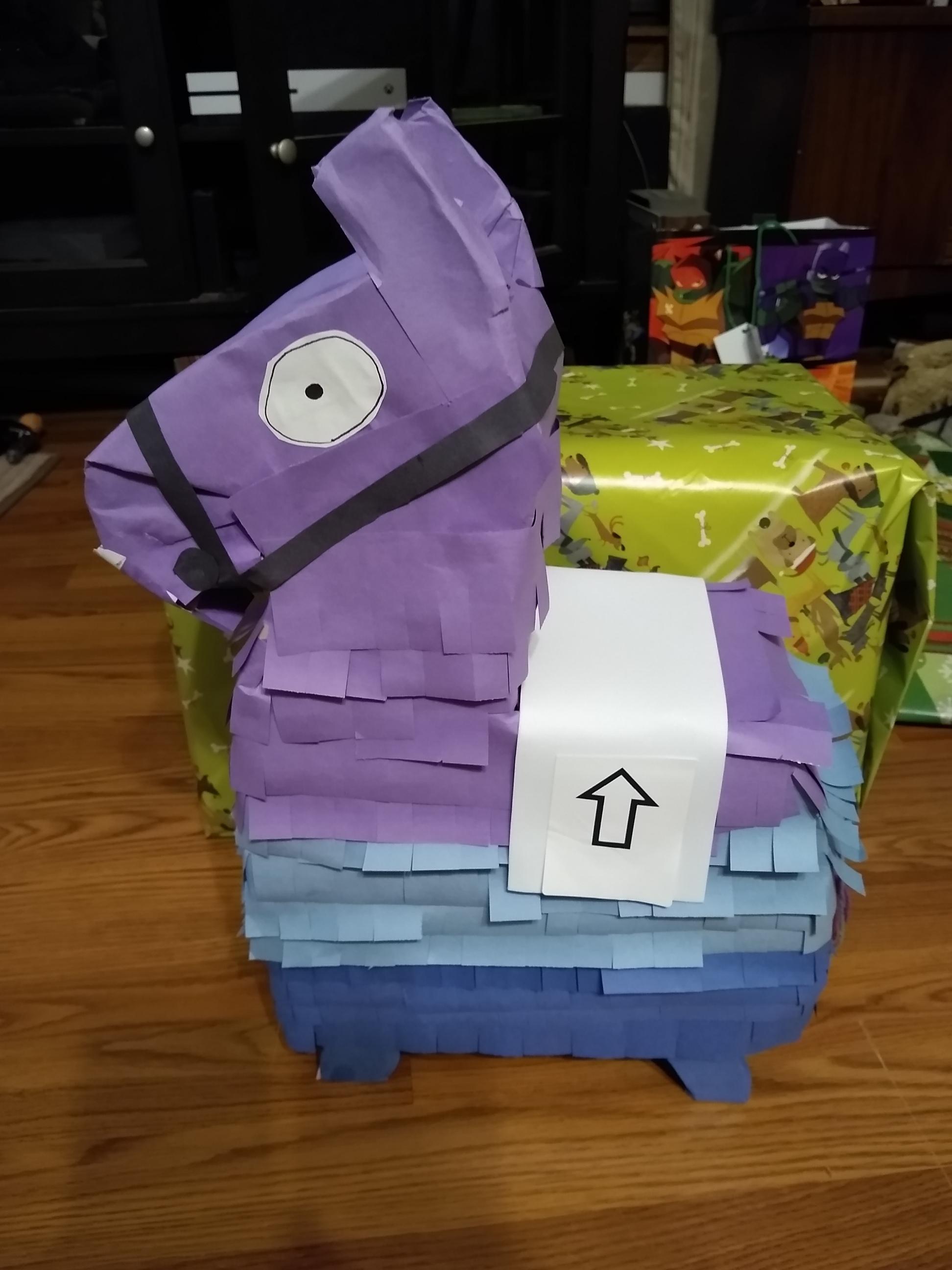 Make Your Own Fortnite Loot Llama (Pinata / Valentine's Box)