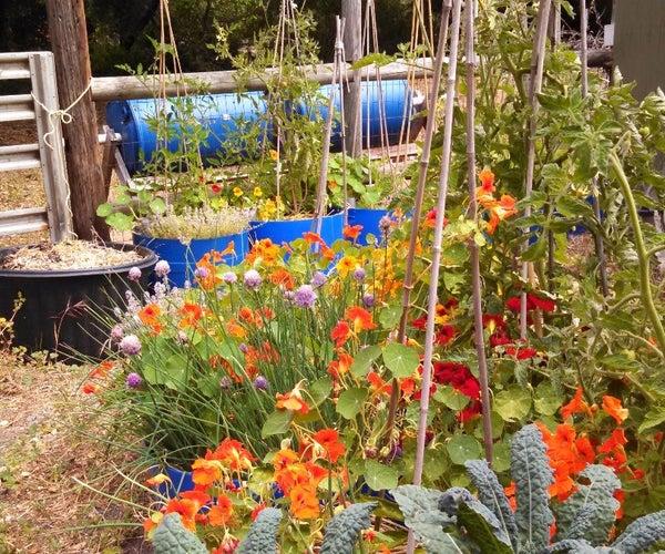 Reservoir Bins Make Gardening Easy