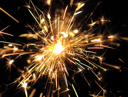 Sparklarette-The cigarette that's also a sparkler