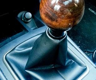 Fancy Wooden Stick Shift Knob