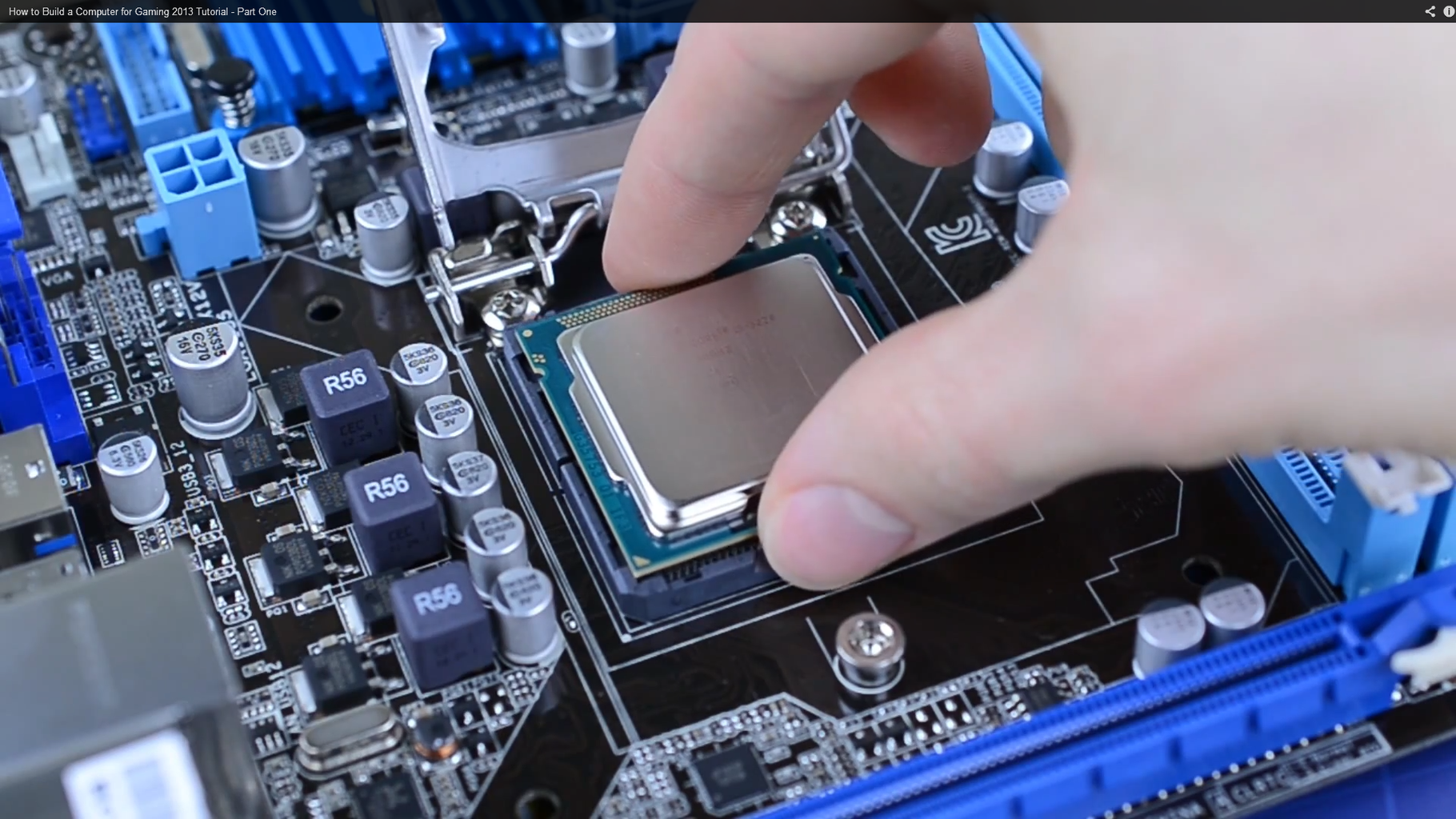 Install the CPU
