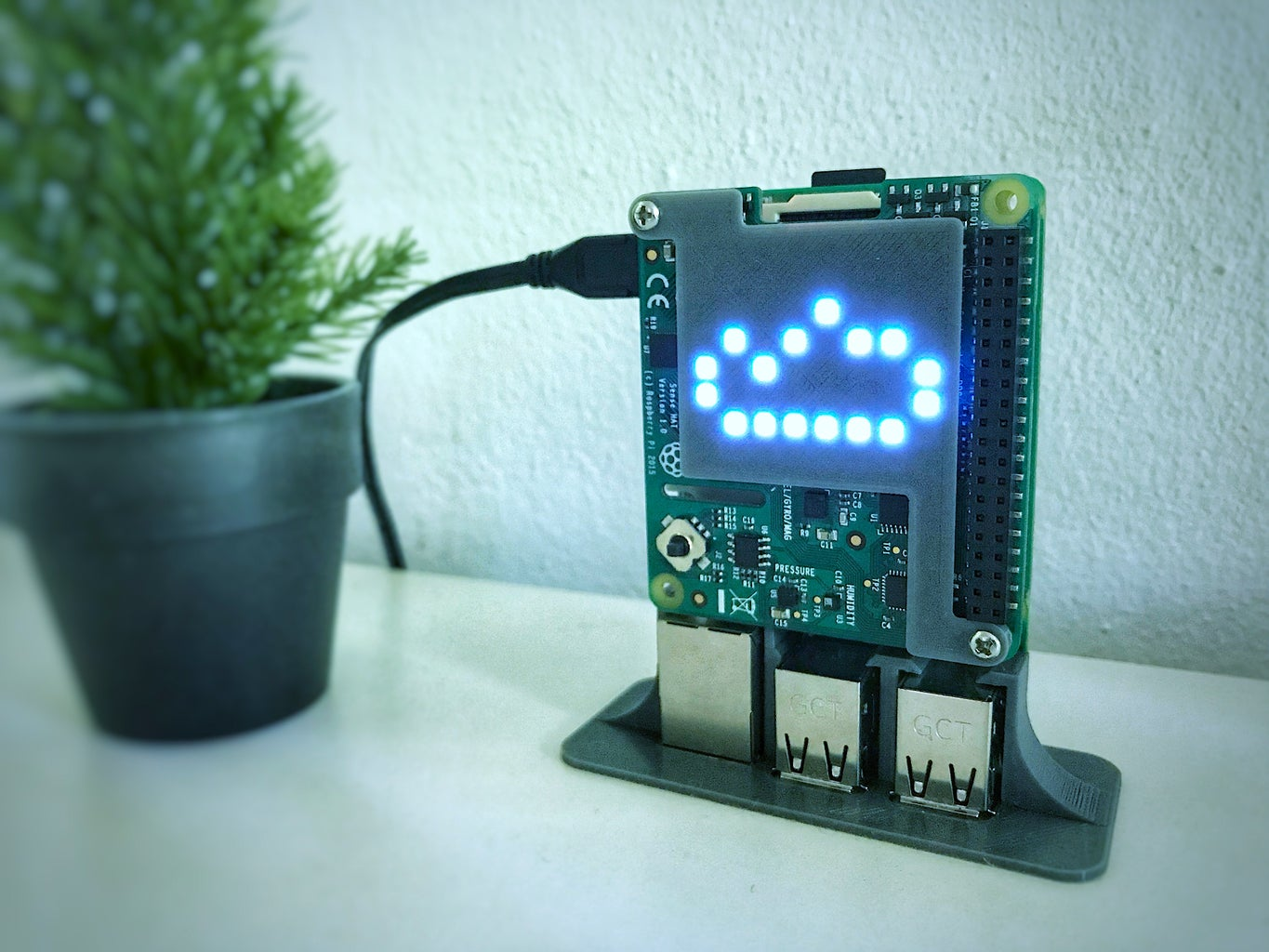 RPi Weather Station and Digital Clock