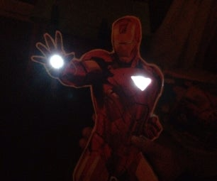 Light Up Cardboard Cutouts!!